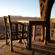 Namibia Lodge Sonnenuntergang