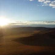 Sonnenuntergang, Landschaft Namibia