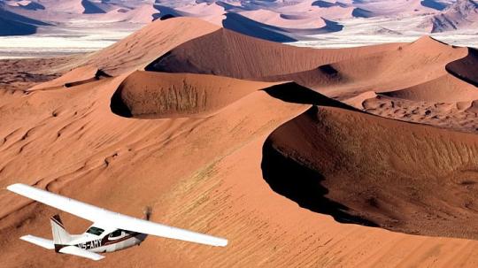 Namibia Flugsafaris, Rundflüge