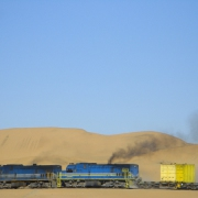 Zugfahrt durch Namibia